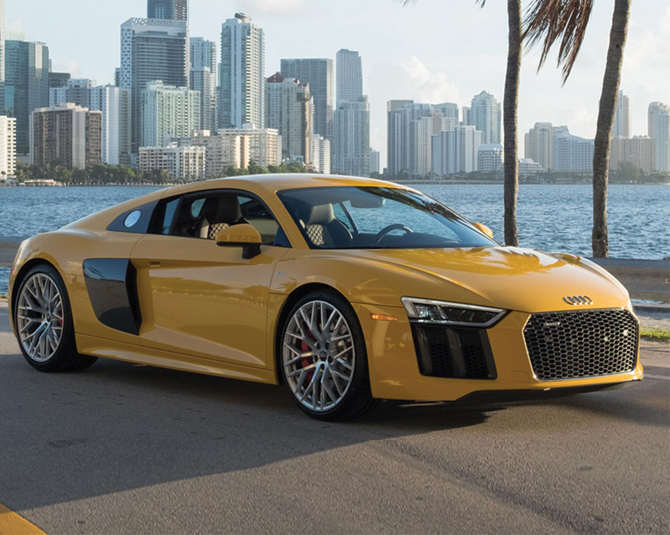Luxury Sports Car Dealership In Miami FL The Collection - Audi collection