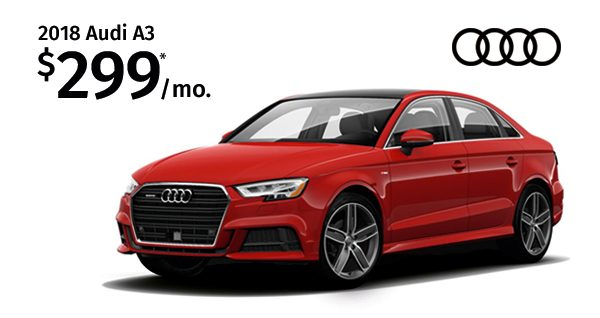 Lease The 2018 Audi A3