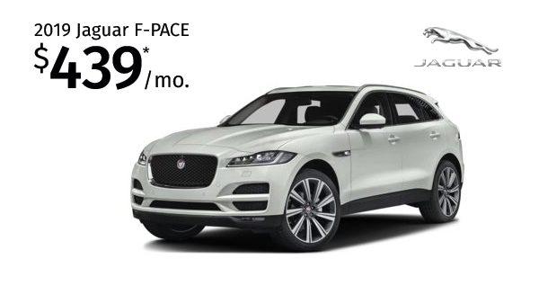 Lease The 2019 Jaguar F Pace