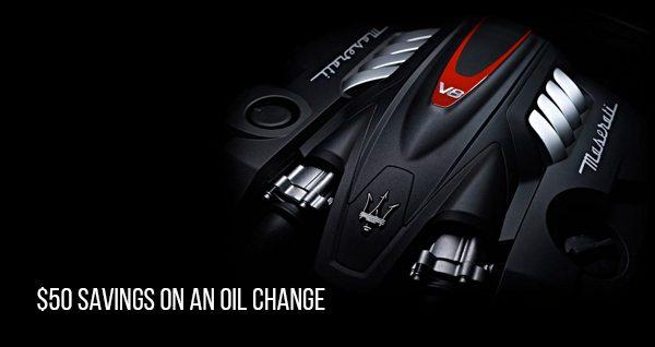 Maserati Oil Change - Miami, Fl