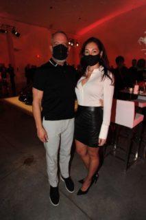 Jose Garcia and Leslie Garcia at Temple House - Ferrari