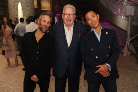 Seth Browarnik, Ken Gorin, & Simon Kim at The Collection